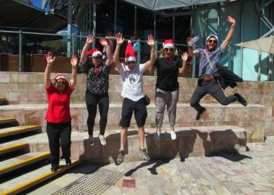 Amazing Race Melbourne Christmas Parties 4