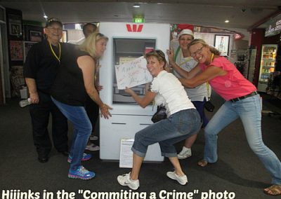 Commiting a Crime Photo Challenge